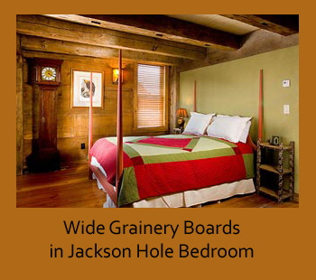 Wide grainery boards