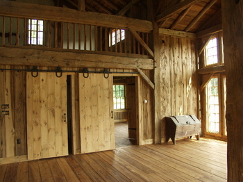 Cola barn home conversion for Converting a pole barn into a house